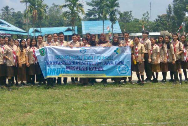 Sosialisasi dan Edukasi Peningkatan Kesehatan Jiwa dan Masalah Napza di SMAN 1 Jagoi Babang