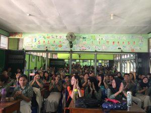 Sosialisasi dan Edukasi Peningkatan Kesehatan Jiwa dan Masalah Napza di SMAN 1 Bengkayang
