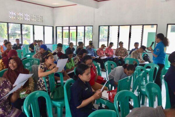 BNN Kabupaten Bengkayang Gelar Kegiatan Diseminasi Informasi Insert Konten di Desa Goa Boma