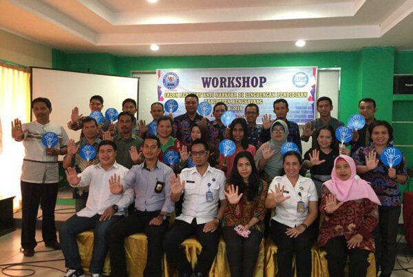 BNN Kabupaten Bengkayang Gelar Workshop dan Tes Urine di Lingkungan Pendidikan