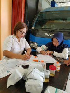 BNN Kabupaten Bengkayang Gelar Tes Urine Bagi Pegawai