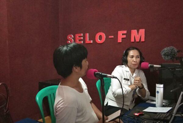 Talkshow BNNK Bengkayang dengan Radio Selo-Fm