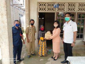 Asistensi Penguatan Ketahanan Keluarga Dirangkaikan Dengan Tali Asih di Desa Setia Budi