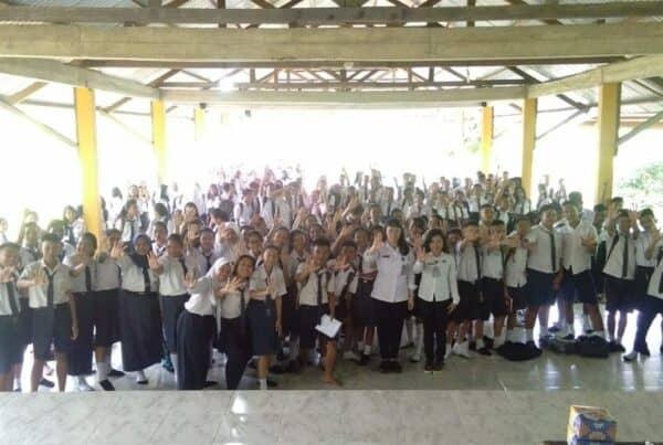 Sosialisasi Bahaya Narkoba pada MPLS SMAN 3 Bengkayang pada hari Selasa, 9 Juli 2019