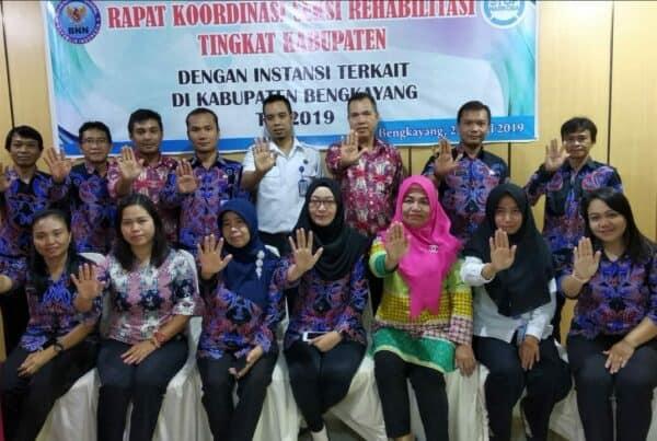 Rapat Koordinasi Seksi Rehabilitasi Tingkat Kabupaten/Kota dengan Dinas Terkait di Kab. Bengkayang T.A 2019 tanggal 25 April 2019