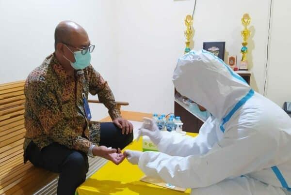 Rapid Test Covid-19 Bagi Pegawai BNN Kabupaten Bengkayang
