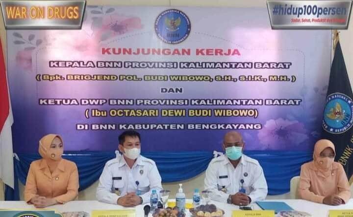 Kunjungan Kerja Kepala BNN Provinsi Kalimantan Barat