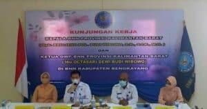 Kunjungan Kerja Kepala BNN Provinsi Kalimantan Barat di BNN Kabupaten Bengkayang