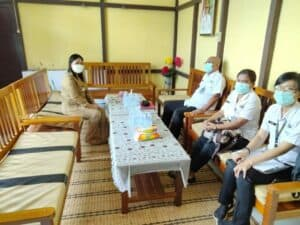 Koordinasi Kelembagaan Ke Camat Jagoi Babang Dan Polsek Jagoi Babang Dalam Rangka Pemetaan Kawasan Rawan Narkoba