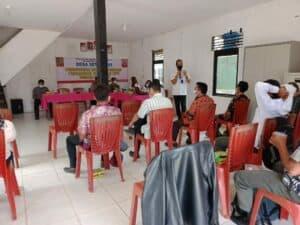Test Urine Bagi Perangkat Desa Setia Budi sebagai Desa Bersinar di Kabupaten Bengkayang