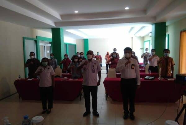 Bimbingan Teknis Penggiat P4GN di Instansi Pemerintah Kabupaten Bengkayang T.A 2021