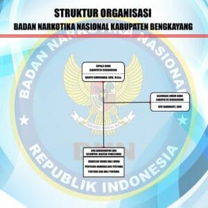 Struktur Organisasi BNNK Bengkayang